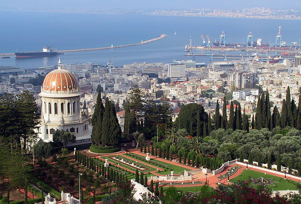 Haifa_Shrine_and_Port
