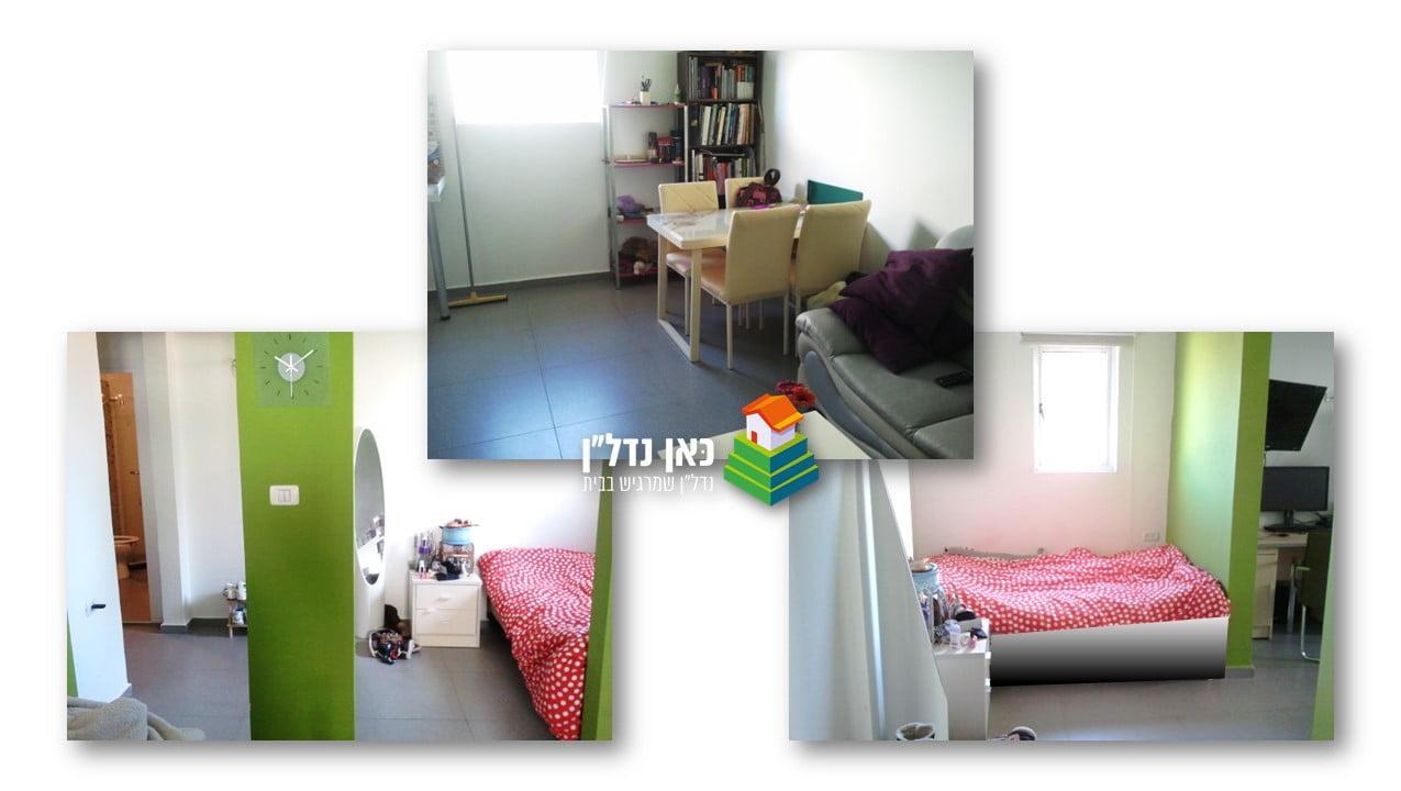 דירת חדר וחצי