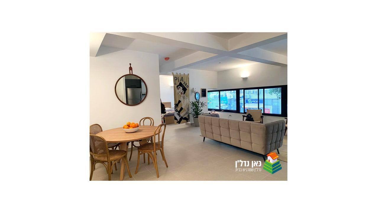 להשכרה – דירת בוטיק בבניין חדש בלב העיר התחתית